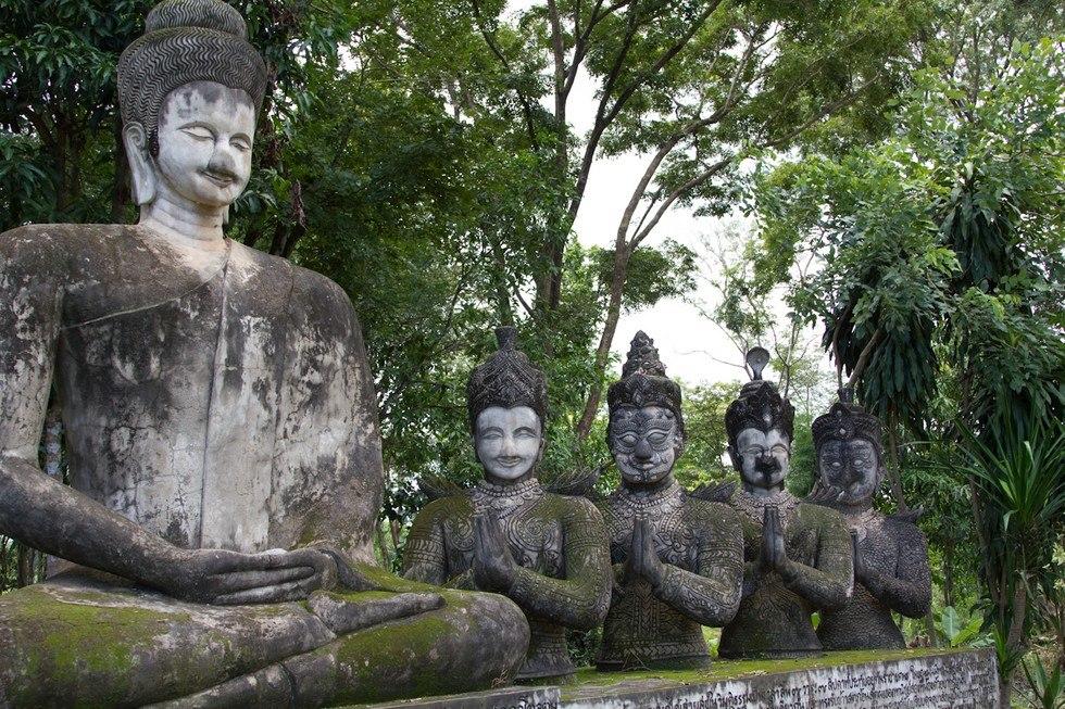 Парк Сала Кеоку. Тайланд X9rqUZ1A5qM