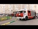 Подольские пожарные проводят учения в Кузнечиках.