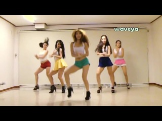 PSY&Waveya- AMSTERDAM STYLE o(0,_,O)o Korean dance team