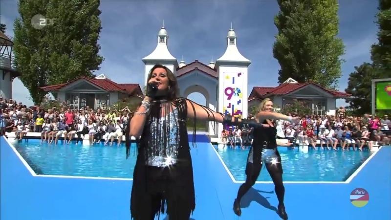 Jenny Berggren from Ace of Base «All That She Wants» (ZDF-Fernsehgarten 12.08.2018)