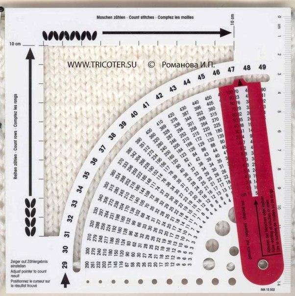Калькулятор вязанного полотна