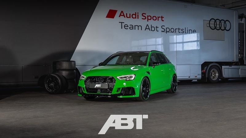 ABT RS3 viperngrün Essen Motorshow 2018 | ABT Sportsline