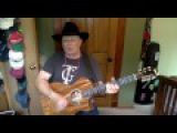 2038  - Big Iron  - Marty Robbins vocal &amp acoustic guitar cover &amp chords
