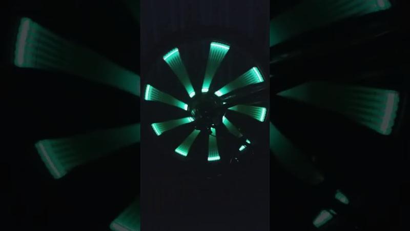 Велотюнинг.Цветная-медляная
