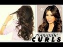 ★ KIM KARDASHIAN BIG CURLS TUTORIAL | CUTE LONG HAIRSTYLES | HOW TO BLOW-DRY + CURL YOUR HAIR