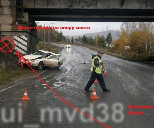ДТП в Усть-Илимске 27.09.2018