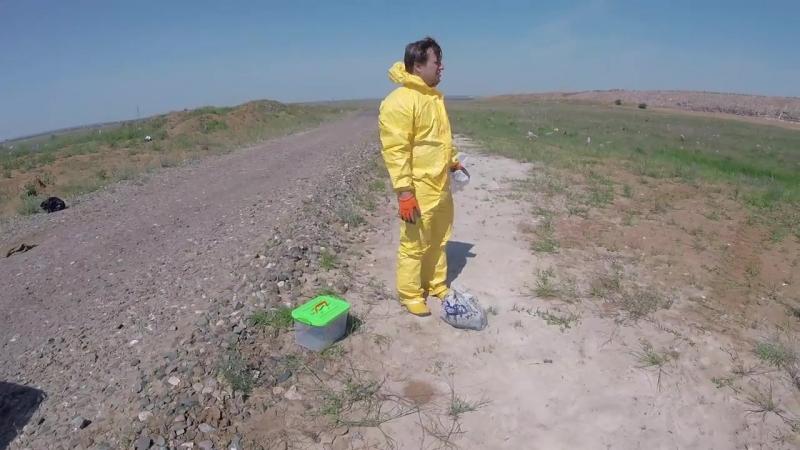 Волга Каспий Экологи обследовали почву возле нашумевшего