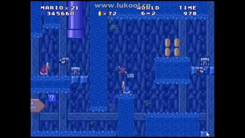 Mario Forever XFX's World v1.0.1 by s小s飞s侠s - World 6 Extra Level