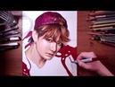 Рисуем Чонгука из BTS