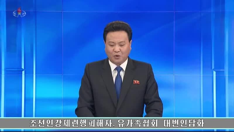 조선인강제련행피해자, 유가족협회 대변인담화