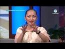 Түнгі студияда Нұрлан Қоянбаев пен Баян Есентаева