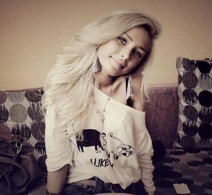 девочки блондинки на аву: