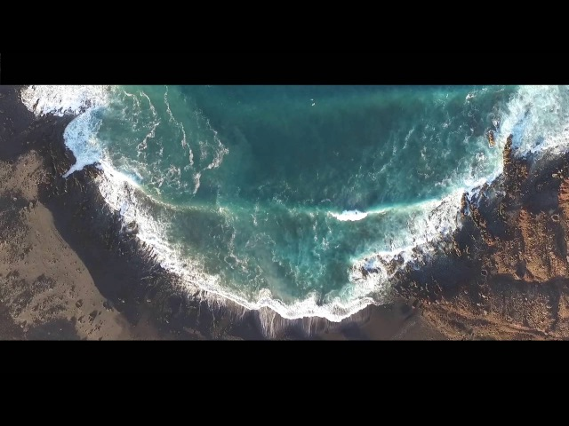 Lanzarote views from a drone