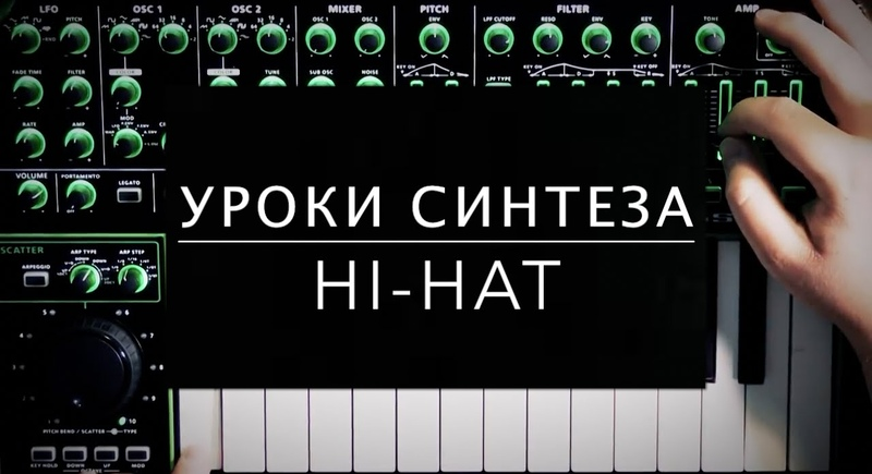 Школа синтеза от Roland: как нарулить хай-хэт (Hi-hat)