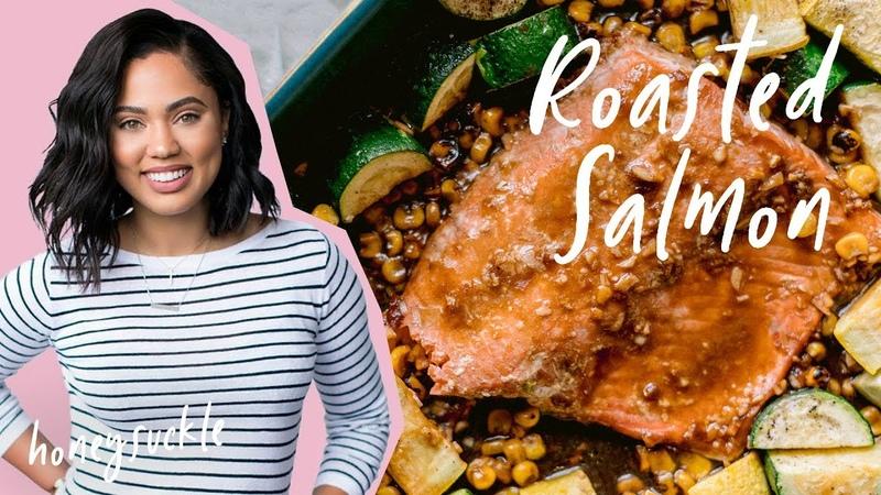 I Made Ayesha Curry's Roasted Salmon | CookBook Cook-Along