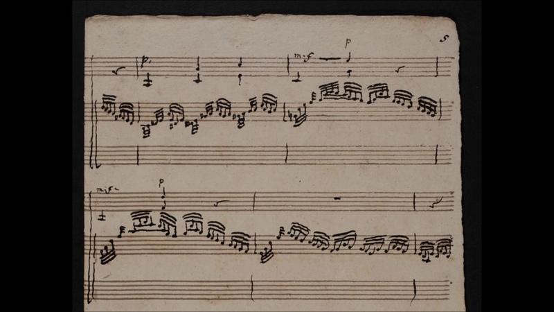 CPE Bach Fantasia F Minor for fortepiano violin