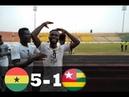 GHANA VS TOGO (5-1)- GOALS HIGHLIGHTS- U23 AFCON QUALIFIERS