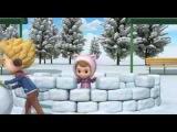 Робокар Поли и его друзья. Правила безопасности в снежный день (мультфильм 19)
