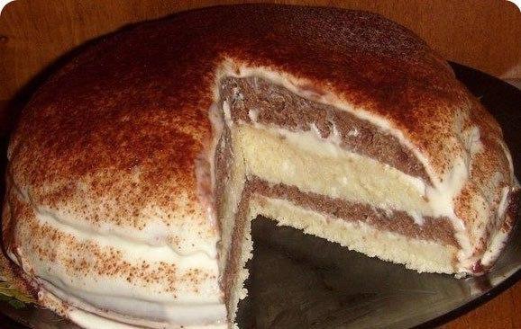 Девочки))) урааа… нашла простой рецепт очень нежного и вкусного тортика на кефире!