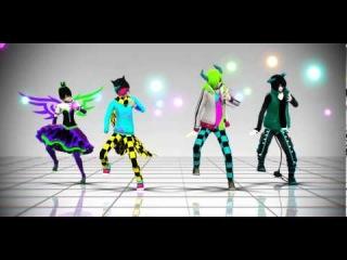 【DisHa, ~RiiF~, DisHi, LiMM】 - Fantastic Baby - 【MMD】