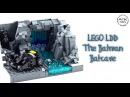 LEGO Batman Batcave MOC | How to Build with a LDD LEGO Digital Designer Tutorial