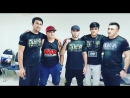 Muin Gafurov after fight