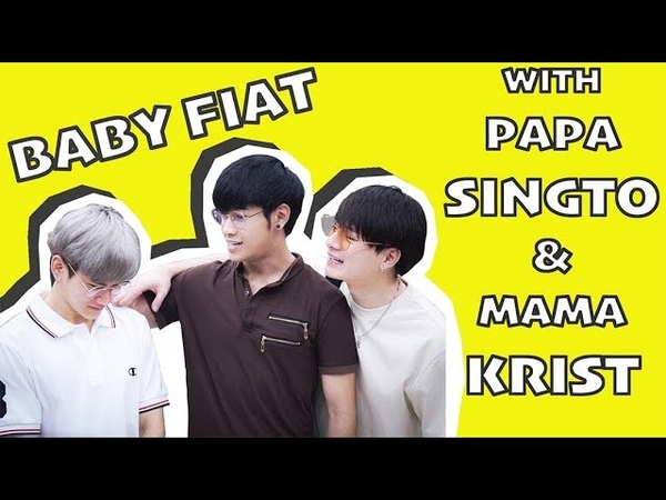 Cute moments of Papa Singto Mama Krist with Baby Fiat because it's too precious ครอบครัวตัวP (pt.1)
