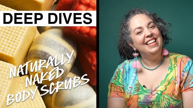 Lush Deep Dives Packaging free Body Scrubs