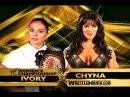 WWE WrestleMania X-Seven : Ivory Vs Chyna (Women's Championship)