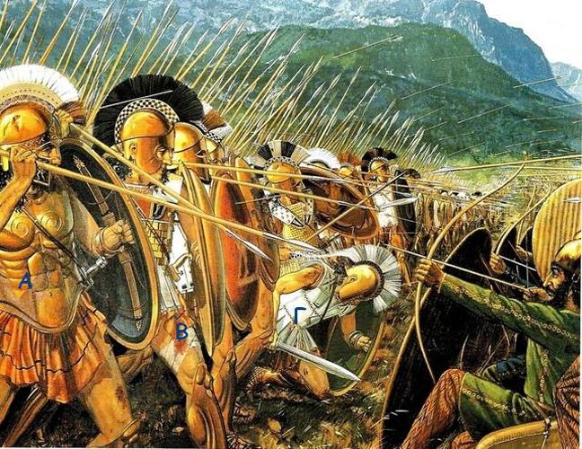 Место Марафонской битвы в Греции