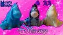 Делаем свечу и магнит в форме ослика Иа из Walt Disney