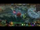 Awesome Double Shackleshot to invis hero using Forcestaff