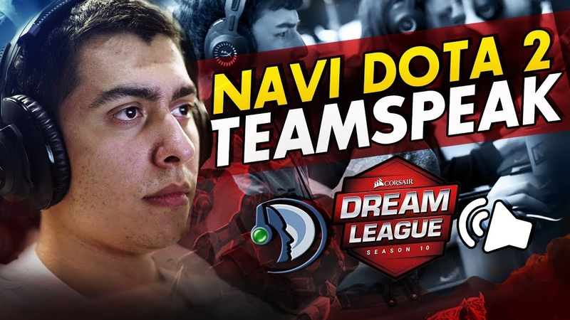 NAVI DOTA2 TEAMSPEAK VS WINSTRIKE, ESPADA @ DreamLeague Season 10 CIS Quals