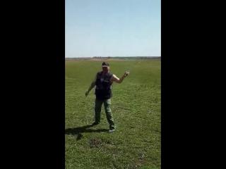 Крутка казачьей шашкой Иван Греховодов