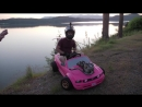 Real Engine in a Barbie Car