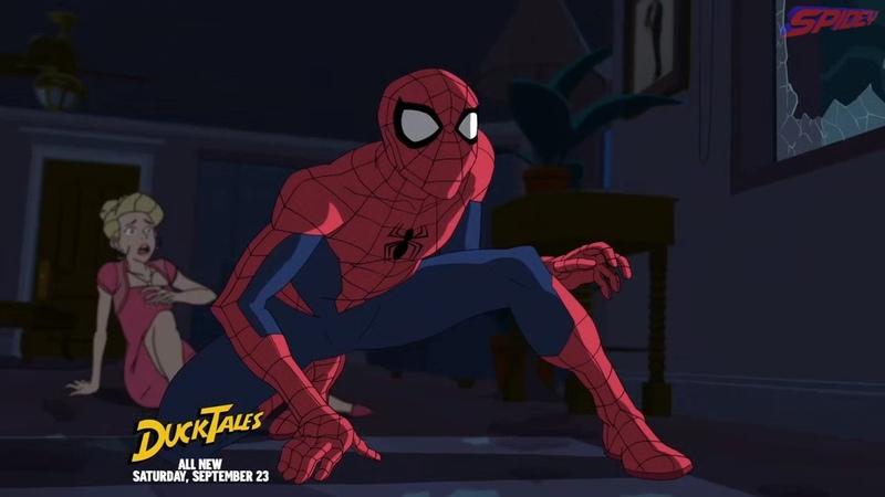 Человек-Паук (2017) S1E5 Тусовщики (Паучье Логово)   Marvel's Spider-Man
