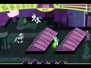 Игра Дружба Это Чудо (My Little Pony Power Ponies Go)