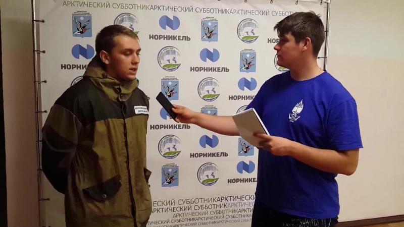 Интервью с Михаилом Сазоновым