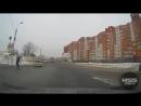 Наезд на пешехода у речного порта, Омск