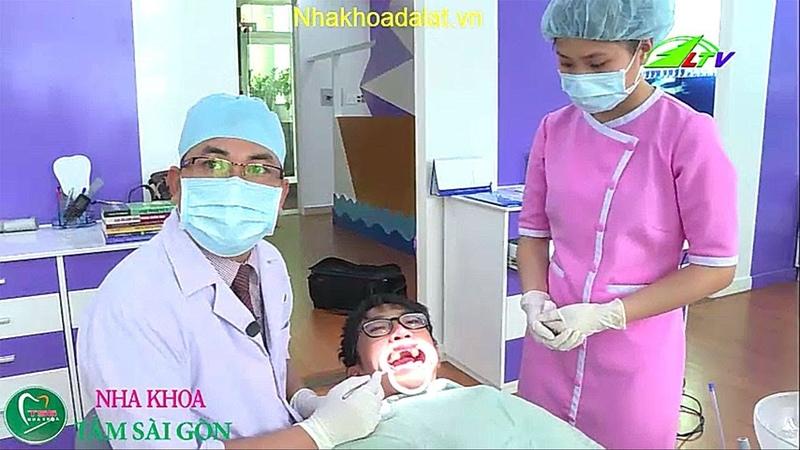Nha khoa đà lạt chia sẻ kỹ thuật niềng răng trên đài truyền hình lâm đồng