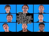 Avengers: Infinity War Cast singing «The Marvel Bunch»