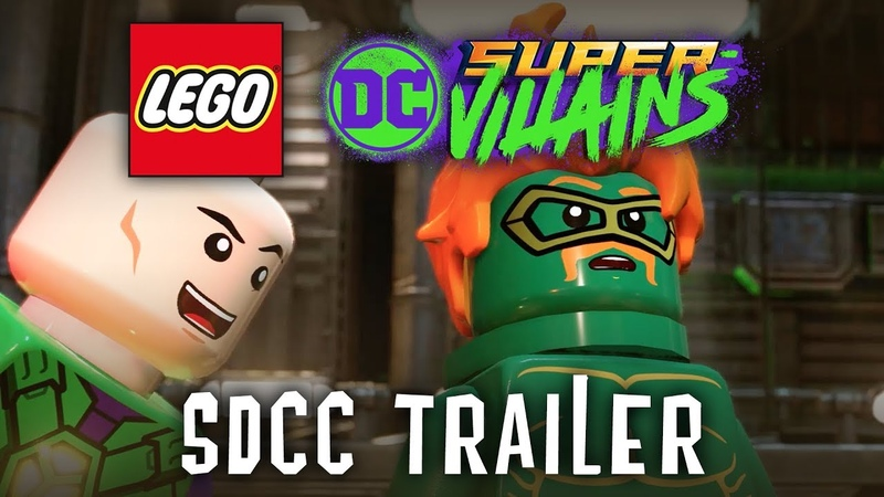 Official LEGO® DC Super-Villains SDCC Trailer