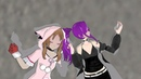 MMD Partners in crime my first mmd video