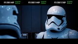GeForce RTX 2080 vs 2080 Ti Star Wars Reflections Demo Performance