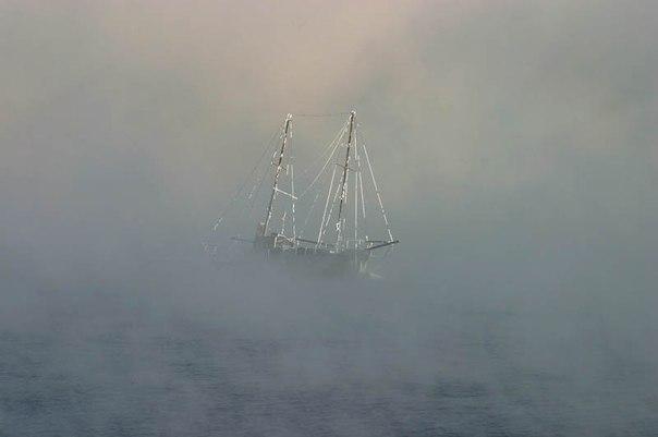 Мистические корабли-призраки