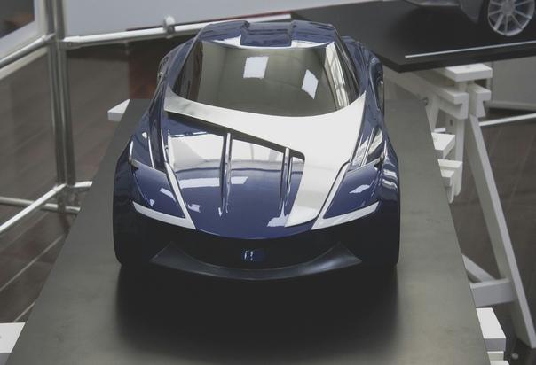 Nissan Z-Vision. Проект Ильи Захарова Дипломный проект. Московский Политехнический УниверситетАвторское описание проектаNissan Z-Vision это новый взгляд на традиционную японскую философию, в