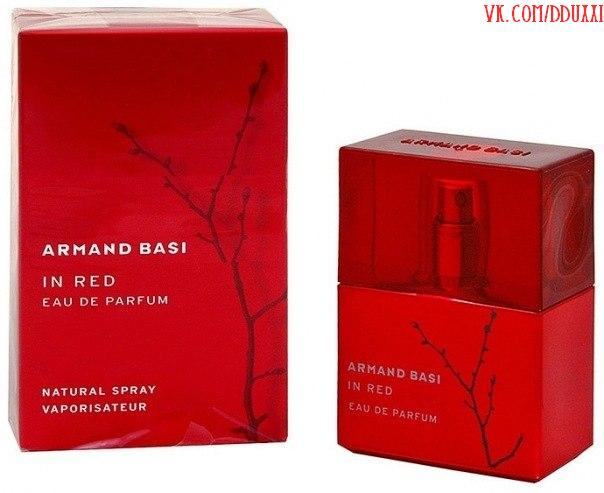 Armand Basi In Red edp (красные) 1600 рублей. 100ml.
