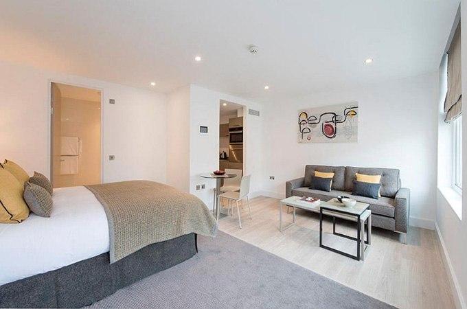Квартира-студия 30 м в Лондоне / Великобритания - http://kvartirastudio.