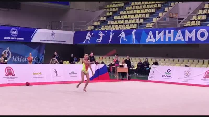 Александра Скубова - скакалка (многоборье) Первенство Москвы 2019