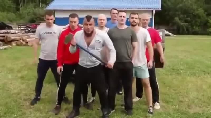 Гопники мешают рыбачить Русский стиль каратэ